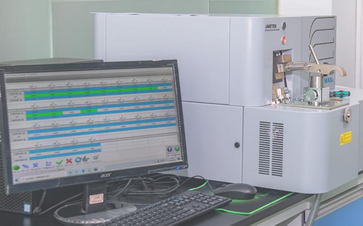 Material spectrometers