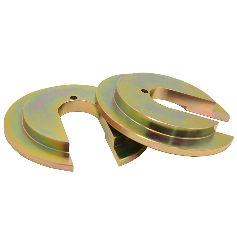 Hersteller Industrielle Unterlegscheiben kundenspezifische Metall-Kupfer-Abstandshalter geschlitzte runde Schritt-C-Unterlegscheiben