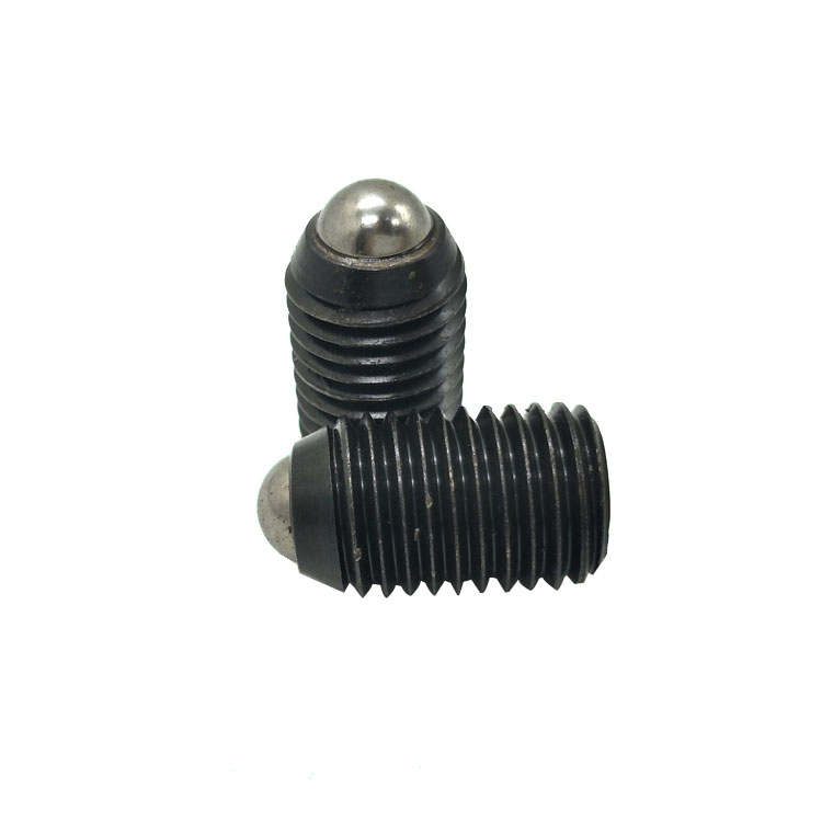 Customized Set Screw Ball Spring Screw Stainless Steel Spring Plunger Hex socket set screws