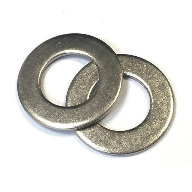 Аптовыя высокадакладныя круглыя плоскія шайбы на заказ металічныя тонкія шайбы