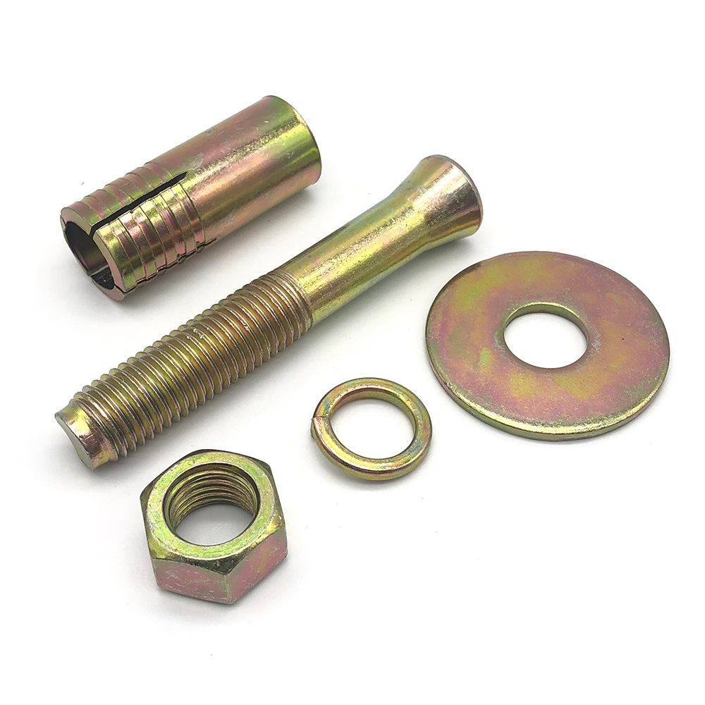 Wholesale anchor expansion bolt drop in anchors zinc plated wedge anchor bolt